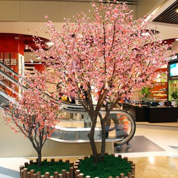350 - Искусственные растения: цветы в горшках