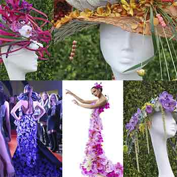 4444 - Прекрасные искусственные орхидеи