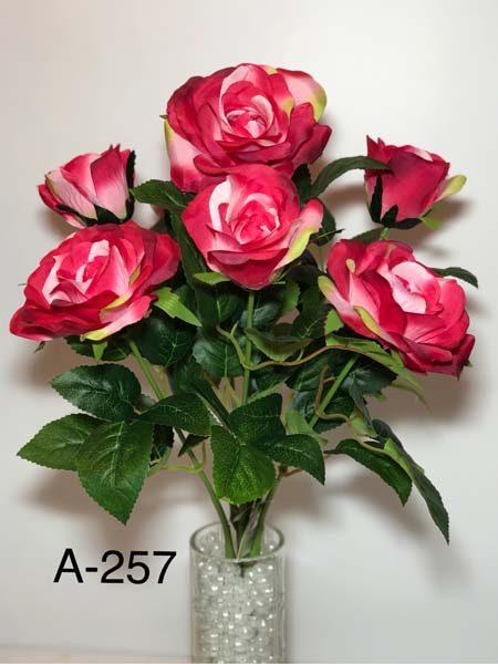 Искусственный букет A-257 Открытые розы
