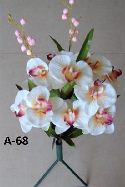 Искусственный букет A-68, орхидея бабочка