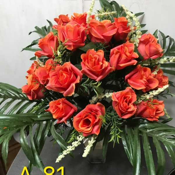 Искусственный букет A-81, розы