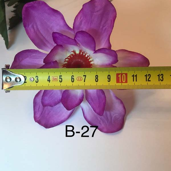 Искусственный букет B-27, синие цветы