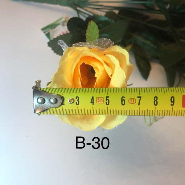 Искусственный букет B-30, бутоны роз