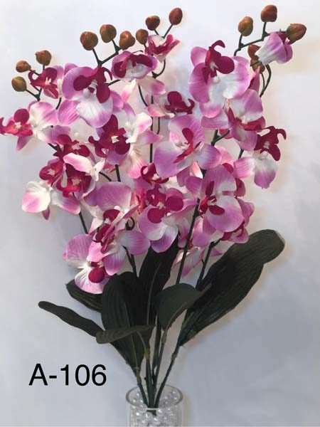 Искусственный букет A-106, желтые орхидеи