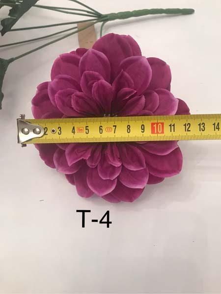 Искусственный букет T-4, далия (Георгина)