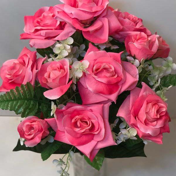 Искусственный букет L-001, роза с острыми лепестками