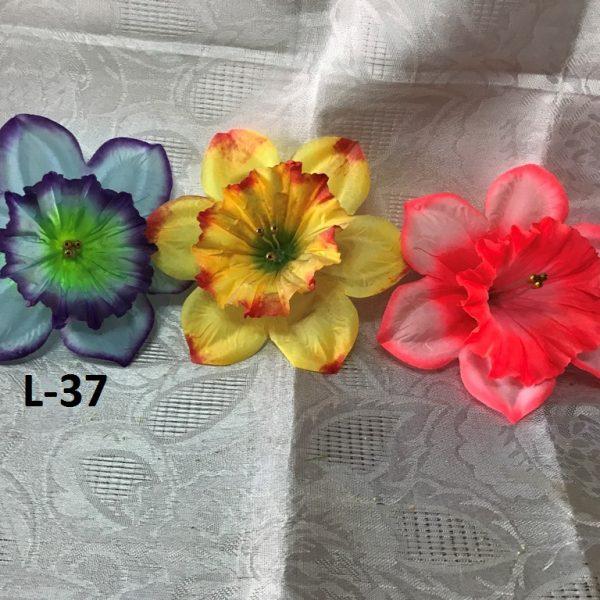 Искусственная головка цветка L-37, головки нарцисса