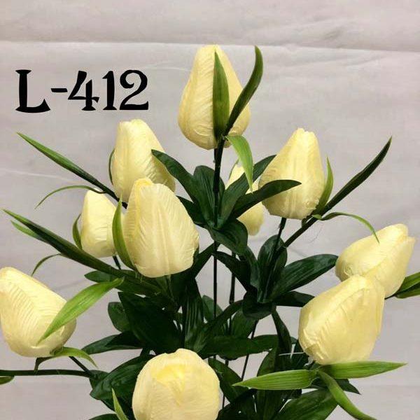 Искусственный букет L-412, Тюльпаны
