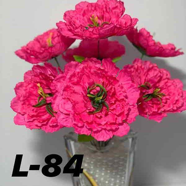 Искусственный букет L-84, клематис розовый