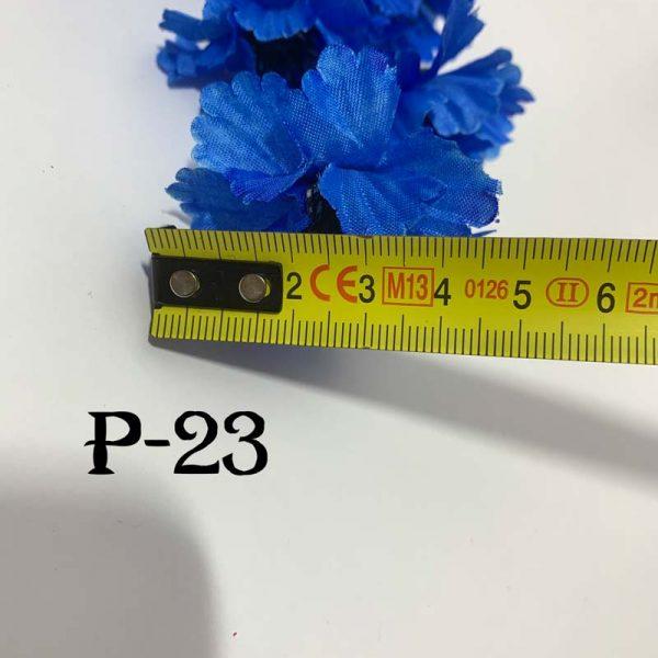 Искусственная ветка P-23, ромашка и василек