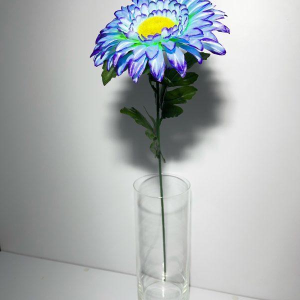 Искусственная ветка P-455, цветы-многоцветки