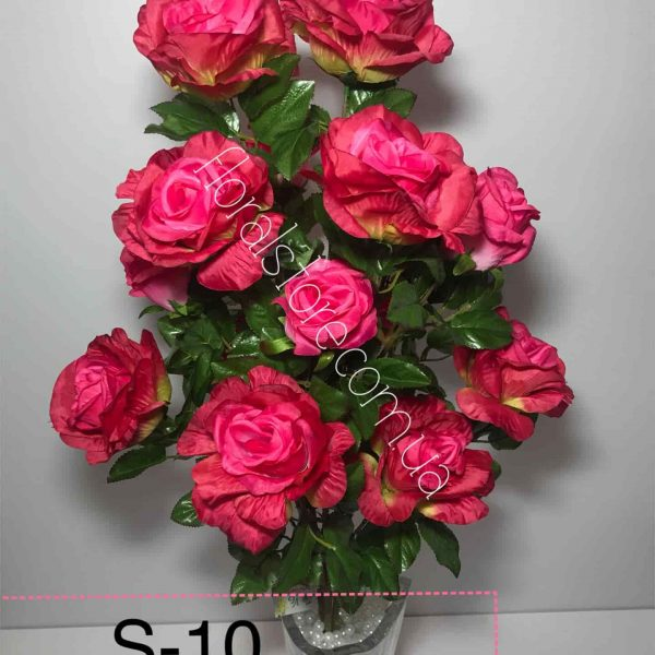 Искусственный букет S-10, Розы