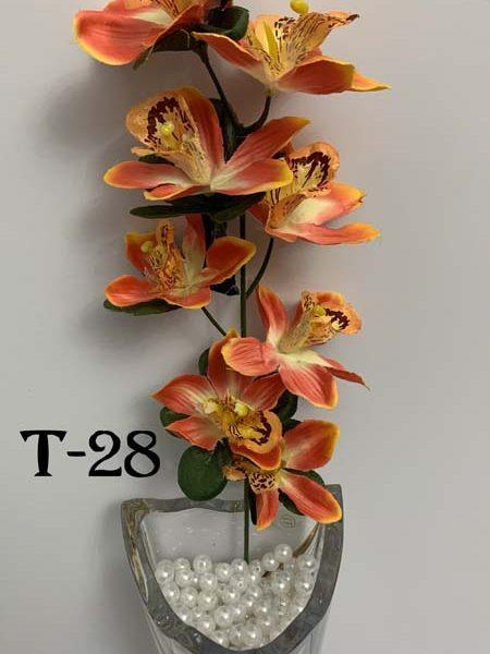 Искусственная ветка T-28, ветка орхидеи