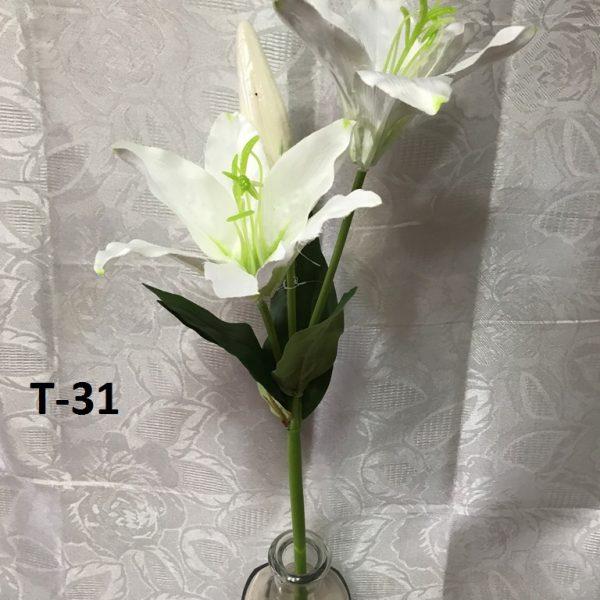 Искусственная ветка T-31, ветки лилии