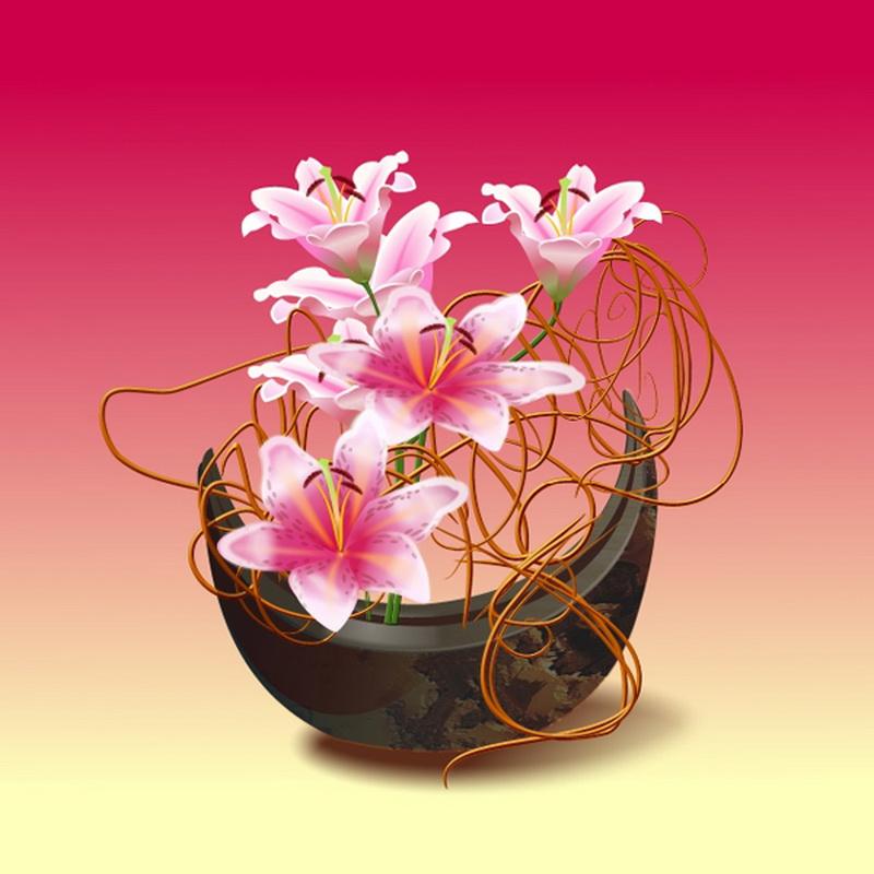 наличия цветы букеты японские картинки подчеркнуть выразительную