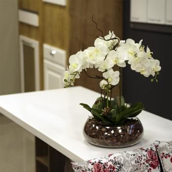 luxora1050 350x350 - Композиции из декоративных цветов: как украсить интерьер