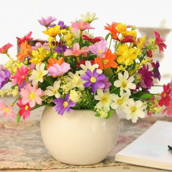 unnamed 4 3 - Букеты из искусственных цветов: как украсить дом